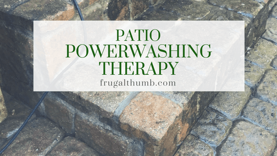 Patio Power Washing Therapy