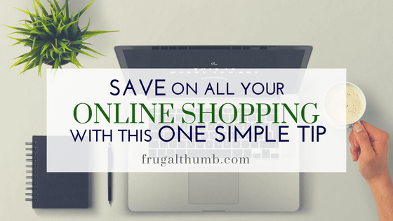 Save on all your online shopping with Ebates